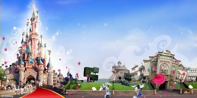 Lístky do Disneylandu