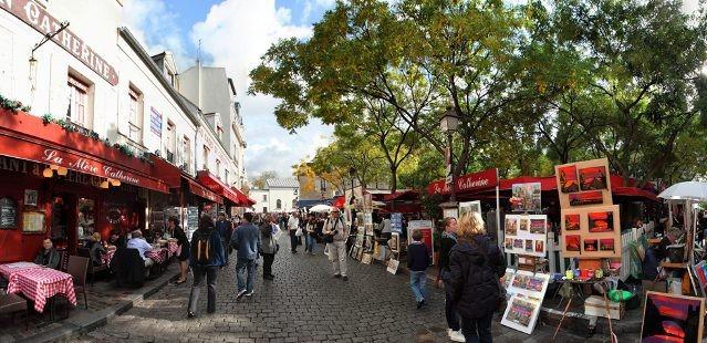 Prehliadka Montmartre